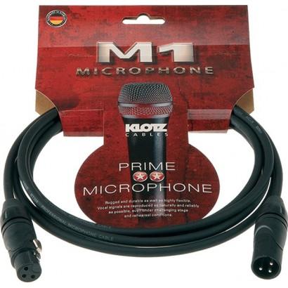 Klotz Câble Micro noir 5m