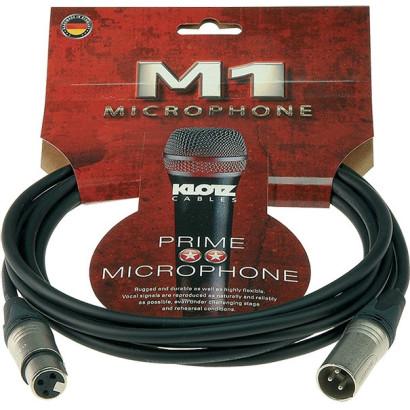 Klotz Câble Micro M1 noir 10m