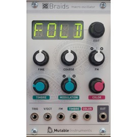 Mutable Instruments Braids