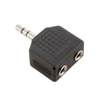 Adaptateur 2 x Mini Jack Mono Femelle 3,5 mm vers Mini Jack Stéréo Mâl 0c207396a2c0