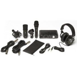 Mackie PRODUCER BUNDLE avec Carte audio, 2 micros, casque